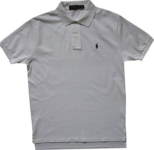 Ralph Lauren - Kurzarm Polo - Custom fit - Classic white (Pferd Lauren Ralph)
