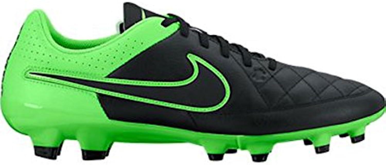 Nike Herren Tiempo Genio Leather FG Fußballschuhe  Schwarz weissszlig