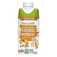 Ethiquable - Infusion Glacee Rooibos Mangue Bio 33Cl - Lot De 3 - Prix Unitaire - Livraison Gratuit En France Métropolitaine Sous 3 Jours Ouverts