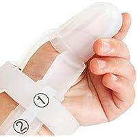 Deanyi Ungiftiges Silikon Kinder Finger Schutz Baby Handgelenk Band Treatment Kit für Stop Daumenlutschen |zufällige Farbe Baby Produkt