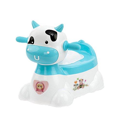 Enfants Toilette- Toilettes pour Enfants Bleu Femme Extra Large Mâle Bébé Enfant Pot Toilette Siège De Toilette avec Musique
