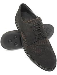 Zerimar Herren Lederschuh Sportlich Schuh Leder Casual Schuh Täglicher  Gebrauch Schöne Leder Schuhe für Den Mann 5f05081023