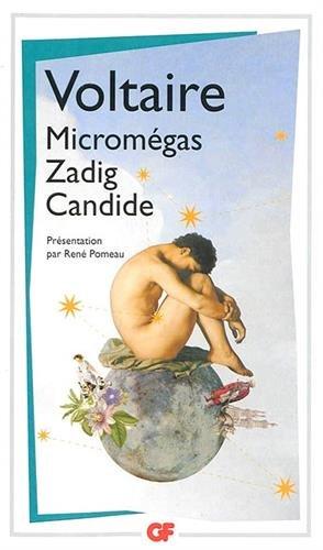 La bibliothèque idéale des 50 ans GF, Tome 18 : Micromégas ; Zadig ; Candide