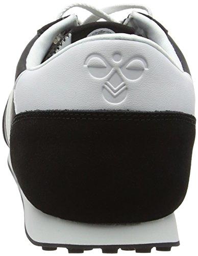 Hummel SEVENTYONE LO, Sneakers basses mixte adulte Noir - Black (Black 2001)
