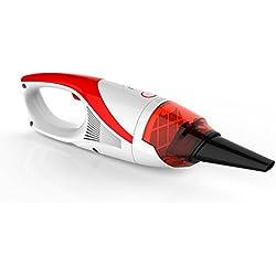 Tsing Mini aspirateur à main Aspirateur de poche sans fil , Dust Busters, Meilleur vide de voitures Hoover, Rechargeable, léger, portable et compact (Rouge)