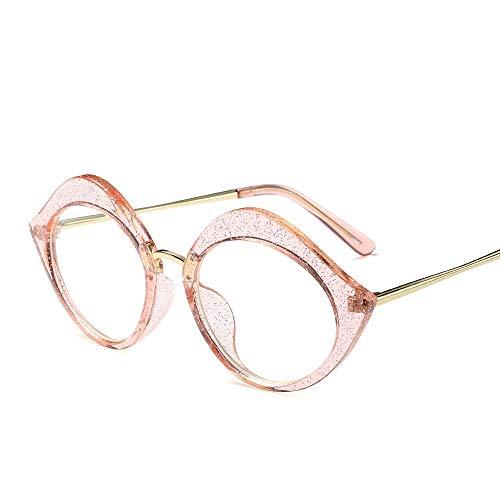 WULE-RYP Polarisierte Sonnenbrille mit UV-Schutz Mode sexy Lippen brillengestell, cat Eye floral kristall Pulver optische linse gläser. Superleichtes Rahmen-Fischen, das Golf fährt (Farbe : Rosa)