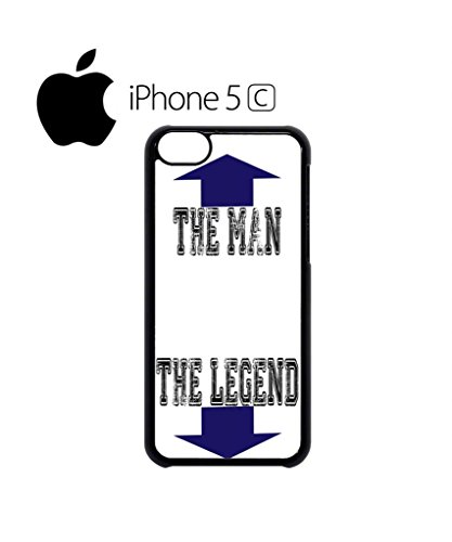 The Man The Legend Cool Funny Hipster Swag Mobile Phone Case Back Cover Hülle Weiß Schwarz for iPhone 5c White Schwarz
