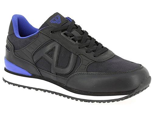 JEANS 00020 7A42100020 935028 Uomo Sneakers IH007935028 Nero Nero 7A421 ARMANI qH5C8Wx8Z
