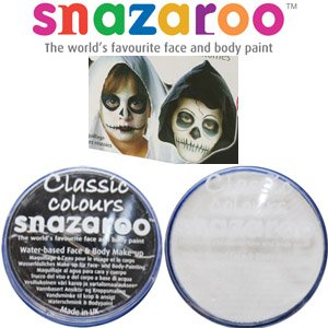 Large Black and White Facepaint Set 18ml