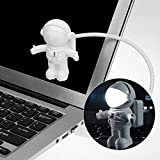 Astronaut Spaceman USB Gadgets Lampe, Hangrui einstellbare kreative energiesparende flexible LED Licht für Laptop Tablet PC Pad Lesung