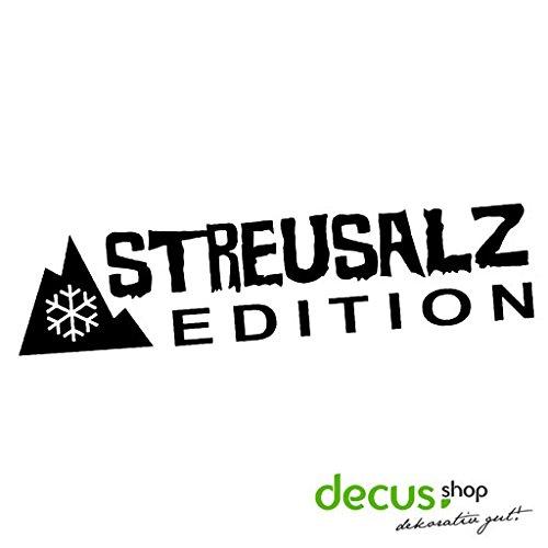 Streusalz Edition // Winter Winteraufkleber Sticker OEM JDM Style Aufkleber (schwarz)