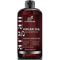 Art Naturals Champú Anticaída De Aceite De Argán Orgánico 473 ml. Sin Sulfatos. Previene