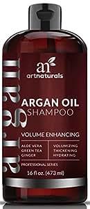 ArtNaturals Arganöl Shampoo Haarausfall Vorbeugend - (16 Fl Oz / 473ml) - Volumen Enhancing - Sulfat frei