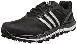 adidas Mens Pure 360 Gripmore Sport Golf Shoe Black / Metallic Silver 8 D(M) US