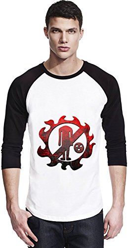 New Fishman Pirates Logo Unisexe Baseball Shirt Large