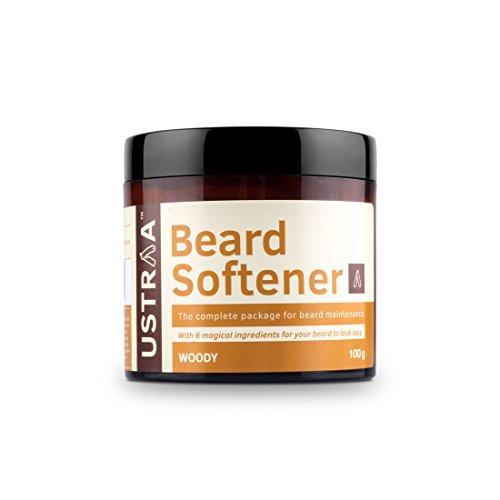 Ustraa Beard Softener for Beard Care, 100g at amazon