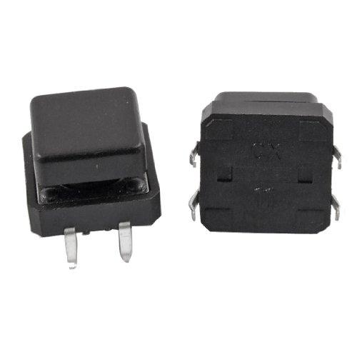 Switch Push-button-cap (20PCS PCB Momentary Taktile Push Button Switch 12x 12x 12mm 4-Pin DIP W CAP)