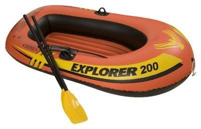 Generic Intex Recreation 58331EP Explorer 200 2 Person Boat Set, 73x73Inches