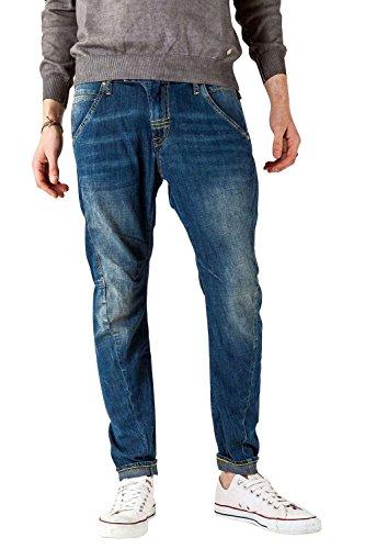 Meltin'Pot - Jeans LUKIN D1524-UD380 für mann, ergonomischen stil, loose fit, normaler bund - größe W43/L31 (Größe hersteller:34)
