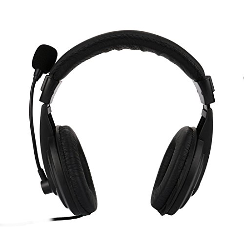 tiefseeberg Wired Stereo-Head Wear Headset Mikrofone für PS4/PC/Telefon