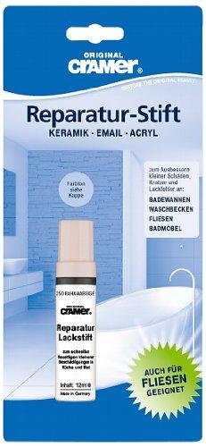 Cramer Lackstift für Sanitär (bahamabeige). Einkomponenten-Speziallack für Kratzer und Lackfehler im Haushalt, 15250