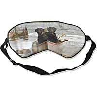 Schlafmaske mit Tierhund, verstellbar, für Damen und Herren preisvergleich bei billige-tabletten.eu