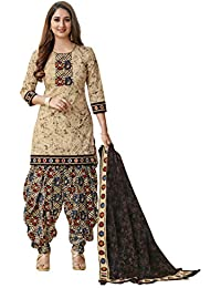 bd7ad61ffd4 Miraan Women s Cotton Unstitched Salwar Suit Material (SG1313