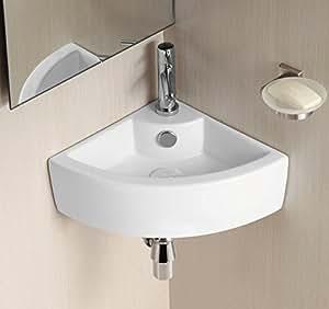 Palmas montato a parete ad angolo bagno lavandino amazon - Lavandino angolo bagno ...