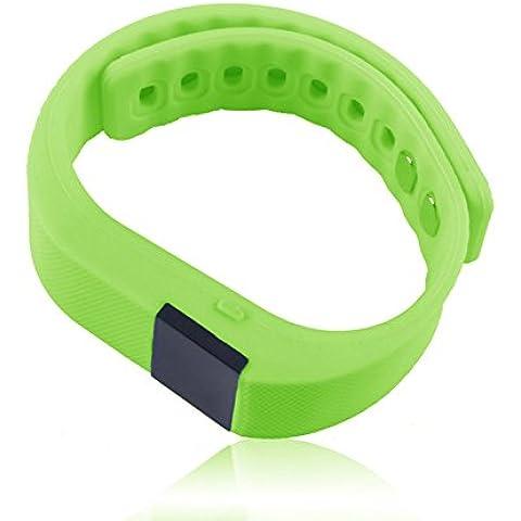 OUMOSI Bluetooth braccialetto Smart Orologio Tracker attività