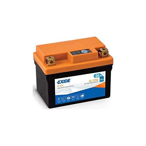 Batteria moto EXIDE AL LITIO ELTZ5S 12V 24Wh 120A dimensioni 113X70X85