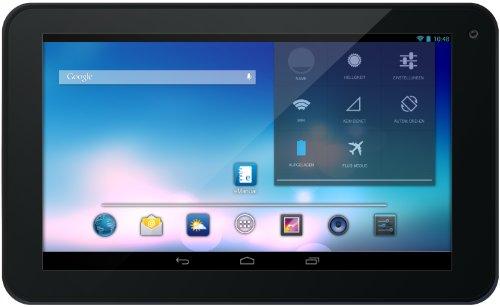 Odys Opos 17,8 cm (7 Zoll) Tablet-PC (1,5 GHz Dual Core-Prozessor, HD Display (1024 x 600), 1GB RAM, 8GB HDD, HDMI, Android 4.2.x,OTA) schwarz / weiß
