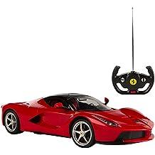 Rastar 41120 - Macchinina radiocomandata, Ferrari LaFerrari, scala 1:14, Rosso