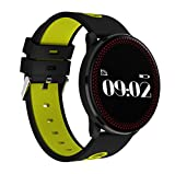 UPP Intelligentes Armband Smart Bracelet Montre Dynamique Pression Artérielle Fréquence Cardiaque Sports Imperméables Bracelet Mince Bracelet Intelligent,B