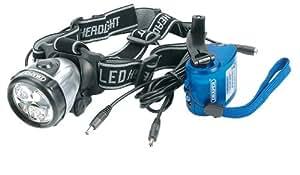 Draper HL4/LED Lampe frontale dynamo 3 LED