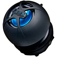XMI X-mini Happy Capsule Speaker with Built-In MP3 Player/SD/SDHC Card Slot - Black