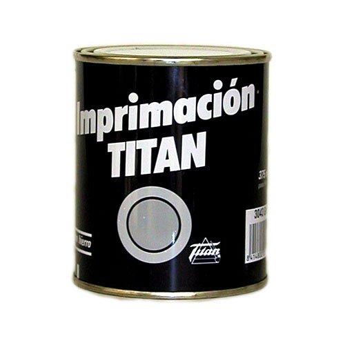 Titan 060304334 Bote Pintura Imprimación, Gris, 750 ML
