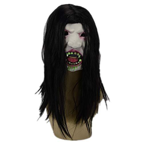 WHLMJ Latex Maske Halloween Geist Geist Horror Blut Menschen Gruselige Party. Maske