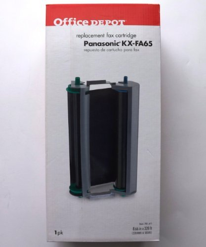 office-depot-panasonic-kx-fa65-replacement-fax-cartridge-by-office-depot