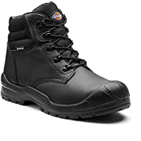 Dickies Mens Trenton Breathable Leather Steel Toe Cap Safety Boot
