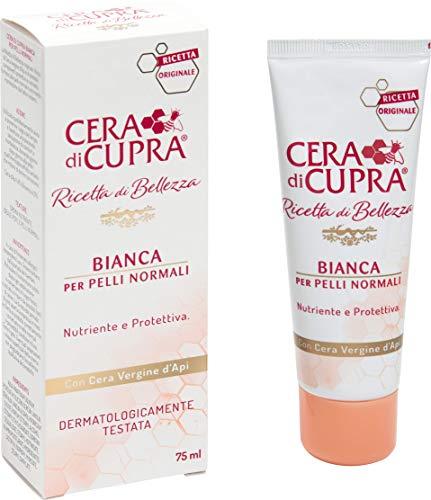 Zeichen Nährende Creme (Cera di Cupra Rezept Der Schönheit Bianca Gesichtscreme, 75 ml)