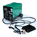 Hst MIG MAG Schweißgerät 150 Ampere Schutzgas Schweissgerät schweißt auch Fülldraht und Aluminium