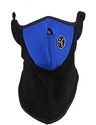 TOOGOO (R) Mascara Calentador de Oreja Cuello Neopreno para Esqui Motocicleta - Azul