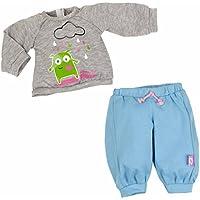 Nenuco - Set ropita Casual con Sudadera Gris y pantalón Azul (Famosa 700011324)