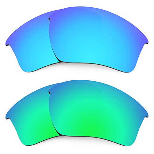 Revant Ersatzlinsen für Oakley Half Jacket 2.0 XL Polarisiert 2 Paar Kombipack K006