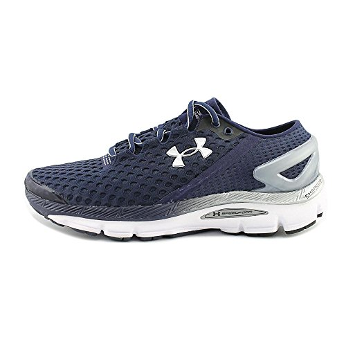 Under Armour Herren UA Speedform Gemini 2 Turnschuhe Marineblau/versilbert