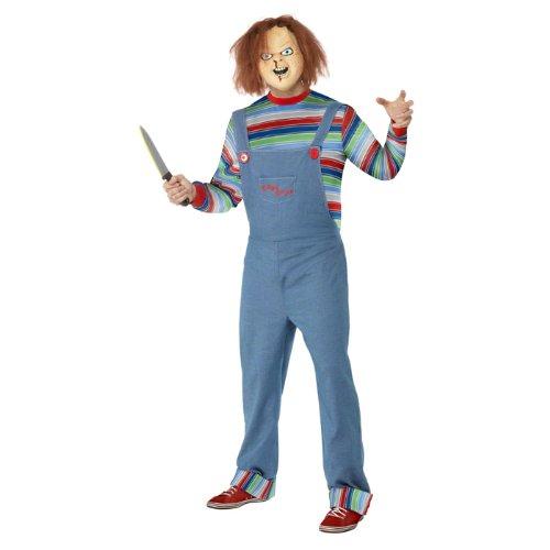 NEU Herren-Kostüm Chucky, Einheitsgröße