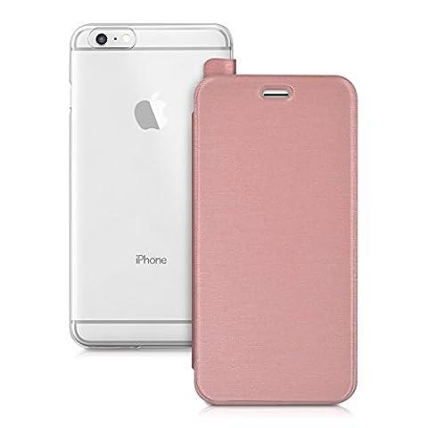 kwmobile Housse flip case pour Apple iPhone 6 Plus /