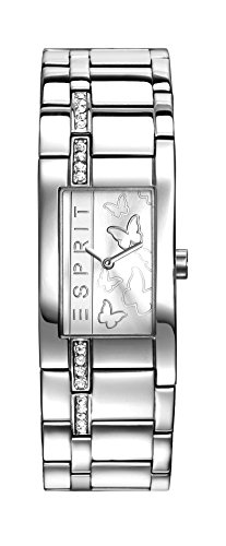 Esprit Damen-Armbanduhr TP10891 Silver Analog Quarz Edelstahl ES108912001