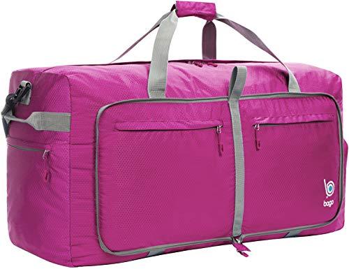 Bago 100L Borsa da viaggio Borsa Pieghevole Impermeabile per Viaggio Sport Palestra Campeggio Bagaglio a Mano Tracolla con Grande Capacità di 100 Litri