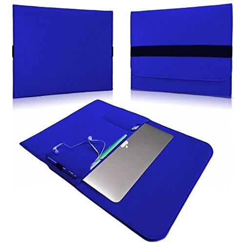 NAUC Laptoptasche Sleeve Schutztasche Hülle für Tablets Macbook Netbook Ultrabook Laptop Case in verschiedenen Farben kompatibel mit z.B. Samsung Apple Asus Medion Lenovo uvm., Farben:Blau, Für Notebook:Sony VAIO VPC-Z21C5E